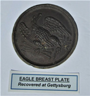 Eagle Breast Plate from Gettysburg, Rosensteel collection (SOLD,BH)