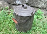 Large Civil War Mess Tin (iron boiler)