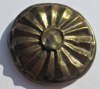 Brass Rosette dug in Texas, with papers