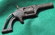 Small dug revolver found at Shiloh