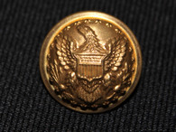 Beautiful non-dug original Civil War Staff Officer's button