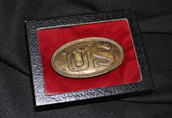 "Rare - Original small-size ""Baby"" U.S. Belt Plate"