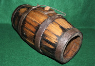 Revolutionary War Soldiers Wooden Stave Barrel Style Canteen