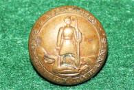 Confederate Virginia Coat Button, dug at Gettysburg