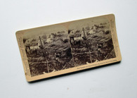 Gettysburg Stereocard of Field Hospital and Meade's HQ