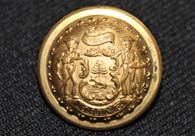 Beautiful Maine State Seal Staff Officer's Coat Button