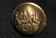 Civil War Michigan State Seal Button