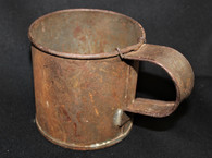 Rare - Civil War soldier's Regulation Tin Cup