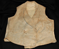Original Civil War era vest, worn by civilians and soldiers