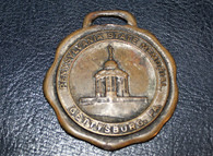 Gettysburg Watch Fob from PA Memorial Dedication, 1910