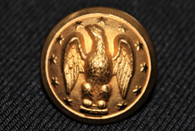 Confederate Droop Wing Eagle General Staff Button
