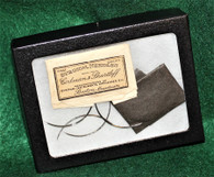 Rare complete package of Civil War Surgeon's Needles, as in Medical Museum
