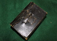 "Civil War era Soldier's Pocket Bible, dated ""1855"""