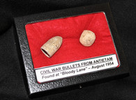 "Bullets from ""Bloody Lane"", Antietam in 1954"