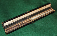 Original Civil War Cased Dip Pen, maker-marked, circa 1860  (ON HOLD,RF)
