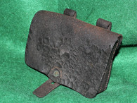 Original Leather Civil War Revolver Cartridge Box