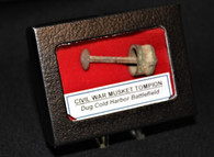 Civil War Musket Tompion dug at Cold Harbor Battlefield