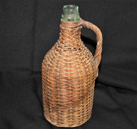 Rare! Civil War soldier's small-size rattan Wine Jug
