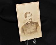 Original CDV image of General George McClellan