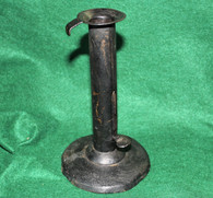 Civil War soldier's candle holder
