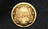 "Beautiful Connecticut ""CNG"" non-dug coat button"