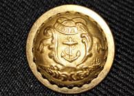Original Civil War Rhode Island state seal staff officer coat button