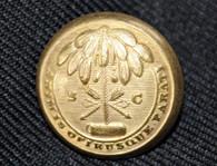 Original Civil War Confederate South Carolina coat button