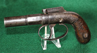 "Allen Patent Bar Hammer Single Shot Pistol with ""1845"" Patent date (SOLD)"