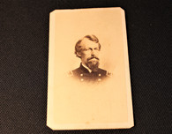"Original CDV image of General David B. Birney ""Birney's Zouaves"", fought at Gettysburg"