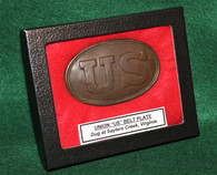 """Union """"US"""" Belt Plate recovered at the Saylers Creek, VA Battlefield"""