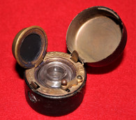 Pop-up Civil War Soldier's Inkwell, as in Lord's Civil War Encyclopedia, (SOLD)
