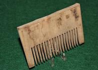 Original Revolutionary War Soldier's Wooden Comb