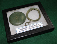 Civil War Soldier's Pocket Watch, recovered at Chancellorsville Battlefield