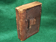 Civil War Soldier's Bible, NY American Bible Society, 1863