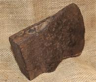 Large Civil War Axe head recovered at Spotsylvania, Virginia