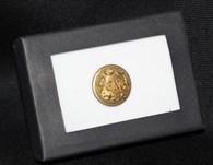 Original Civil War Connecticut Officer Staff Button