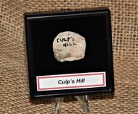 Original Civil War fired William's Cleaner Bullet, dug Culp's Hill, Gettysburg (SOLD,BG)