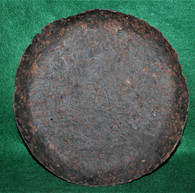 Soldier's Frying Pan from a Union camp, Bermuda Hundred, VA