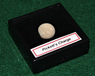 .69 caliber lead ball from Pickett's Charge, Gettysburg Museum, Rosensteel (SOLD)