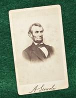 Original Civil War CDV photograph of President Abraham Lincoln (ON HOLD)