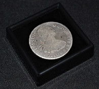 """Dated 1793 Spanish Colonial 8 Reales coin """"America's First Silver Dollar"""""""