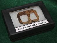 Cavalry buckle found on East Cavalry Field, Gettysburg