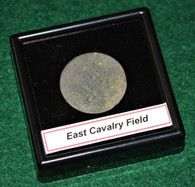 Possibly Confederate button found on East Cavalry Field, Gettysburg