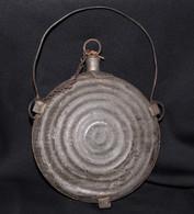 Original Civil War Union Bullseye Canteen, maker-marked
