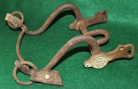 "Original Civil War Complete Cavalry Horse Bit  with both ""US"" bosses"