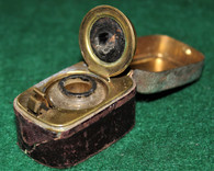 Civil War Soldier's Traveling Inkwell