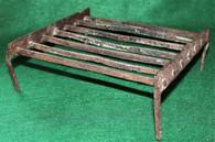 Rare – Revolutionary War hand-forged iron camp Gridiron