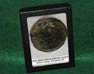 Civil War Union Eagle Breast Plate, dug SC