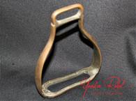 Confederate Brass Stirrup, as in the Gettysburg Museum