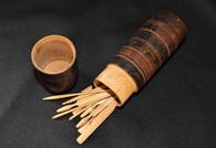 "Rare set of Civil War era Pick-up Sticks ""Jack Straws"" Game"